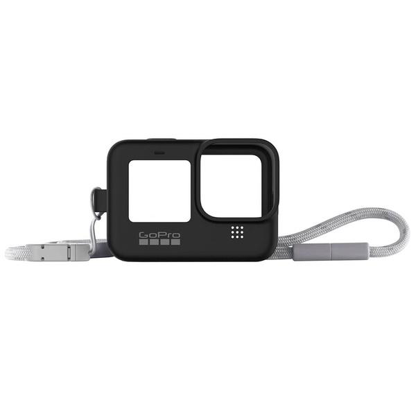 Силиконовый чехол GoPro ADSST-001 черный HERO9 ADSST-001 (Sleeve + Lanyard)