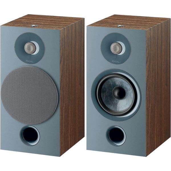 Акустическая система Focal Home Chora 806 Dark Wood коричневого цвета