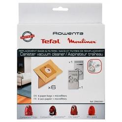 Мешки для пылесоса Tefal ZR003901 бумажные