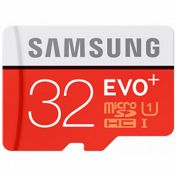 Карта памяти Samsung MicroSDHC 32GB Class 10 EVO Plus V2 (MB-MC32)