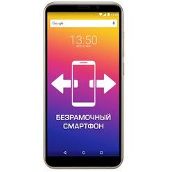 Смартфон Prestigio Wize Q3, Gold (PSP3471DUO)