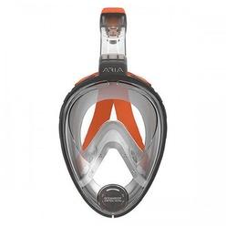 Полнолицевая маска для снорклинга Oceanreef ARIA S/M серый
