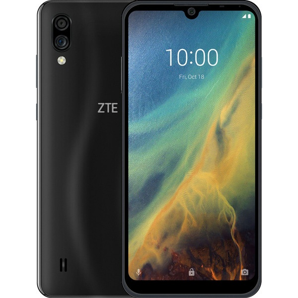 Смартфон ZTE Blade A5 (2020) 32 ГБ чёрный