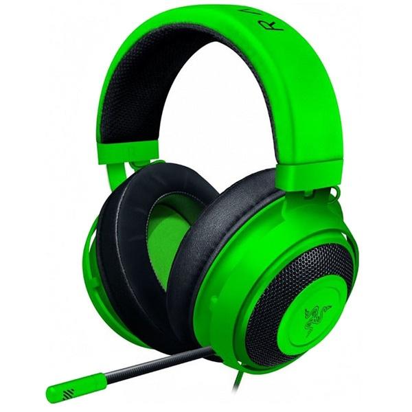 Компьютерная гарнитура Razer Kraken Green цвет зелёный