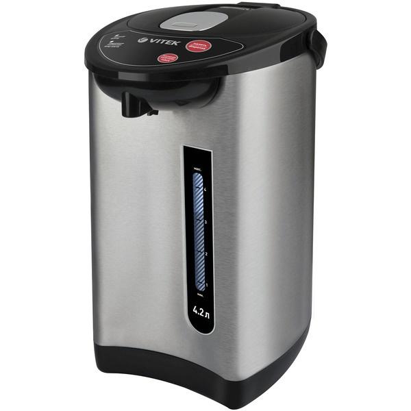 Термопот Vitek VT-7101 серебристого цвета