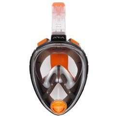 Полнолицевая маска для снорклинга Oceanreef ARIA M/L черный