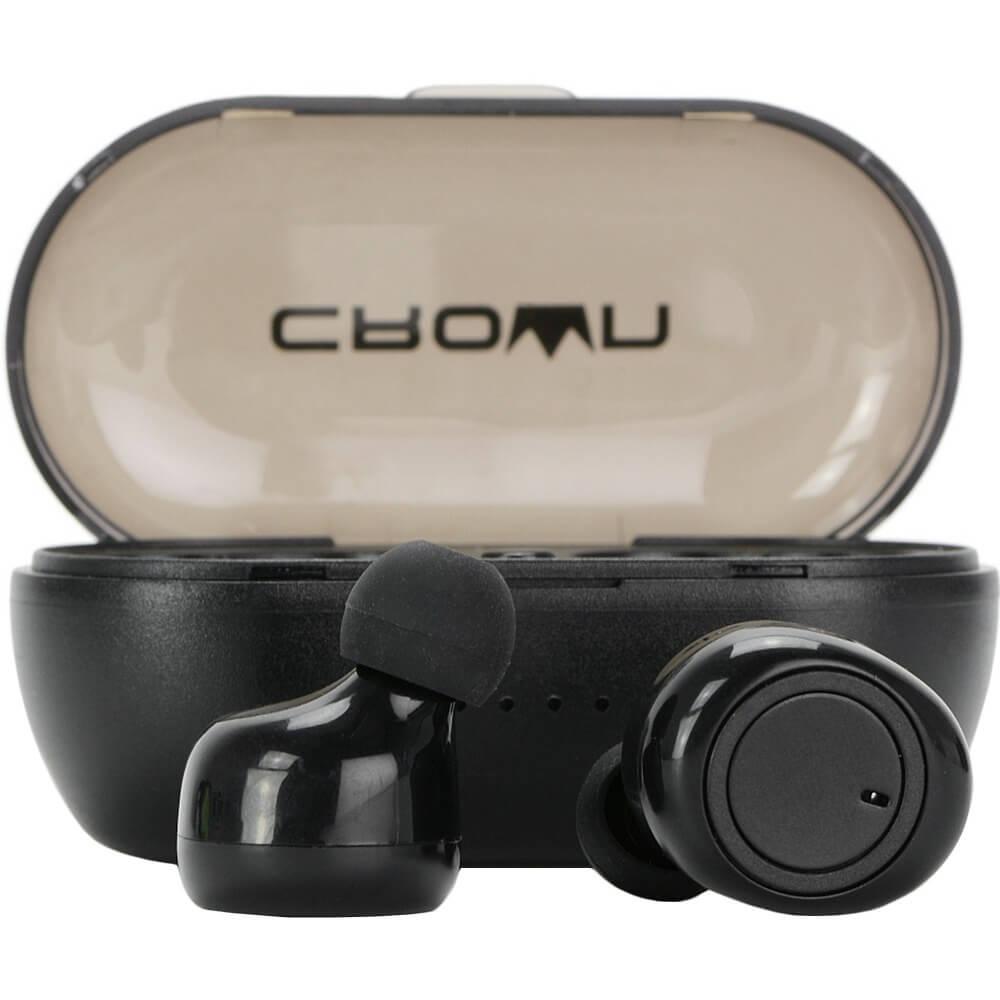 Наушники CROWN CMTWS-5001 Black черного цвета