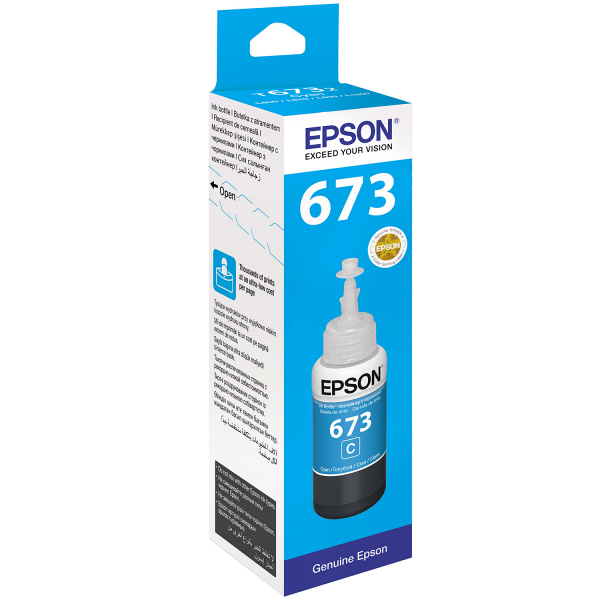 Картридж Epson C13T67324A голубой