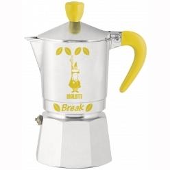Кофеварка Bialetti Break Желтая