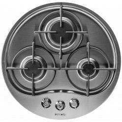 Варочная поверхность Foster RONDO Gas Satin Steel(7052 022)