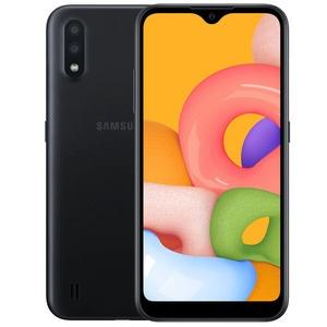 Смартфон Samsung Galaxy A01 черный