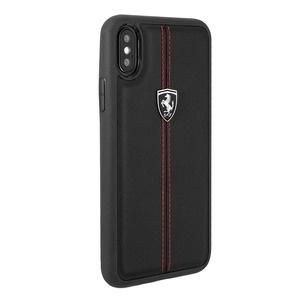 Ferrari Heritage Leather Hard Case для iPhone X