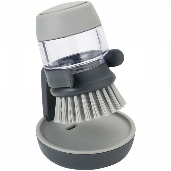 Купить Щетка с дозатором моющего средства Joseph Joseph Palm Scrub 85005, Palm Scrub 85005 щетка с дозатором моющего средства