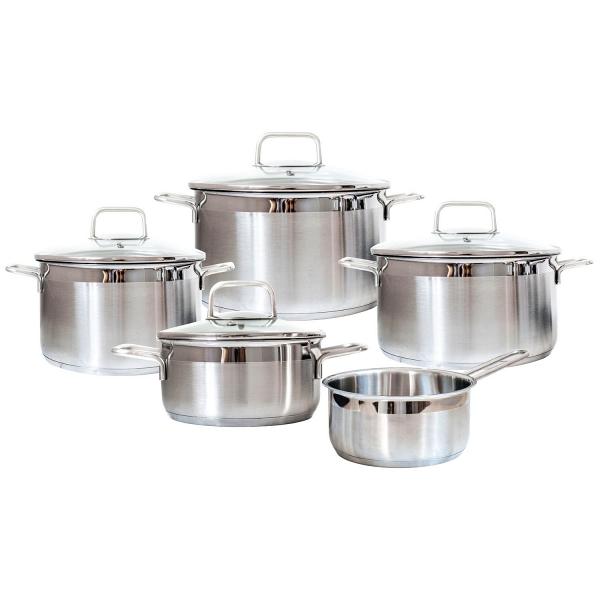 Набор посуды Swiss Diamond Premium Steel SD SETL5 фото