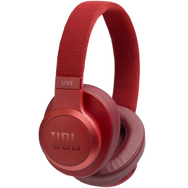 Наушники JBL LIVE 500BT Red, красный  - купить со скидкой