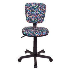 Компьютерное кресло Бюрократ CH-204NX синие карандаши