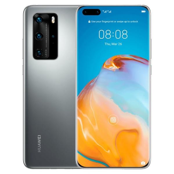 Смартфон Huawei P40 Pro 256 ГБ мерцающий серебристый фото