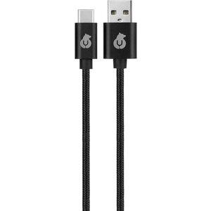 uBear Cord USB-C USB-A DC07BL01-AC, черный