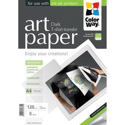 Бумага ColorWay ART T-shirt transfer PTD120005A4 (темные ткани)
