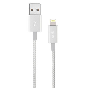 Moshi Integra USB-Lightning, 1.2 м, серебряный