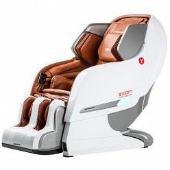 Массажное кресло Yamaguchi Axiom YA-6000 бело-коричневое