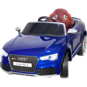Детский электромобиль Toyland Audi Rs5 синий