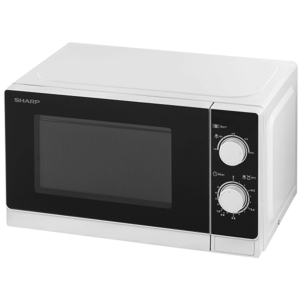 Микроволновая печь Sharp R-2000RW белого цвета