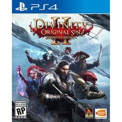 Divinity Original Sin II Definitive Edition PS4, русские субтитры