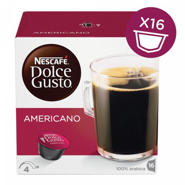 Капсулы для кофемашин Nescafe Americano (16шт)