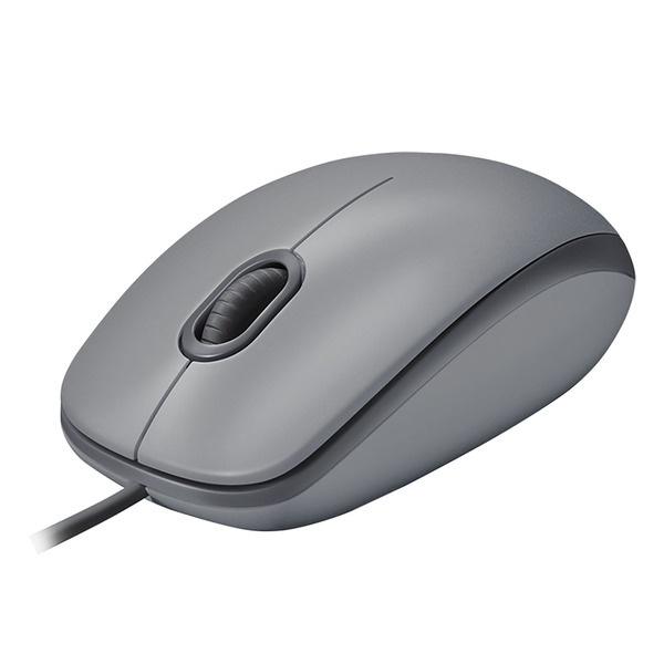 Компьютерная мышь Logitech M110 Silent Mid серый (910-005490) фото