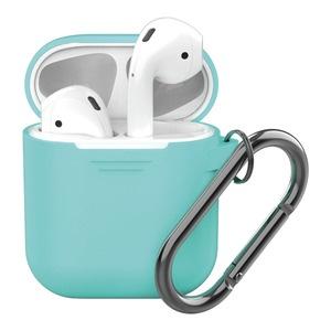 Deppa для Apple AirPods, мятный силиконовый чехол