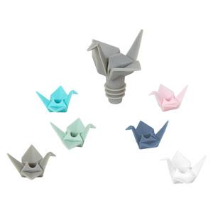 Umbra Origami 1004311-022 набор из пробки для бутылки и маркеров для бокала