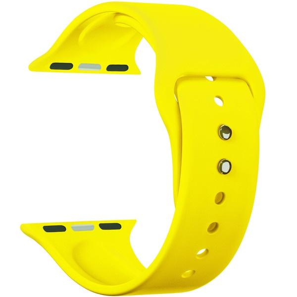 Ремешок для умных часов Lyambda Altair 38/40 мм, желтый (DS-APS08-40-YL)