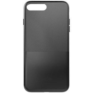 Dotfes G02 Carbon Fiber Card Case для iPhone 7 Plus/8 Plus black