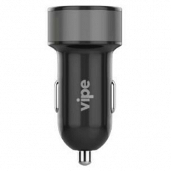 Автомобильное зарядное устройство Vipe Car Charger VPCCH34BLK Black