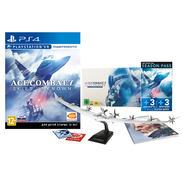 Ace Combat 7: Skies Unknown. Collector's Edition PS4, русские субтитры (поддержка PS VR) Ace Combat 7: Skies Unknown. Collector's Edition (поддержка PS VR) PS4, русские субтитры фото