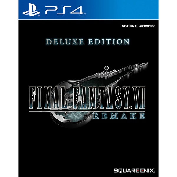 Final Fantasy VII Remake. Deluxe Edition PS4, русская документация PlayStation 4 Final Fantasy VII Remake. Deluxe Edition фото