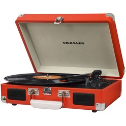 Проигрыватель виниловых пластинок Crosley Cruiser Deluxe CR8005D-OR Bluetooth