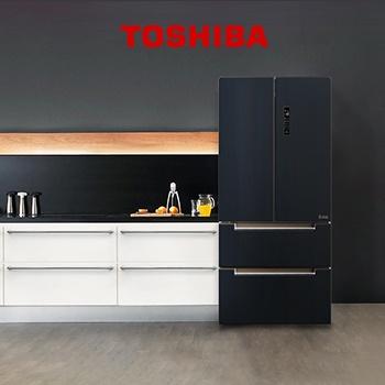 CASHBACK 15% на холодильники Toshiba!