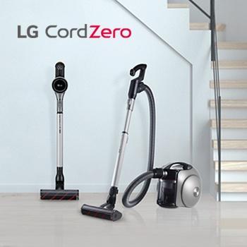 Выгода 25% на пылесосы LG CordZero!