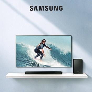 Звуковой проектор с выгодой до 50% к телевизорам Samsung!