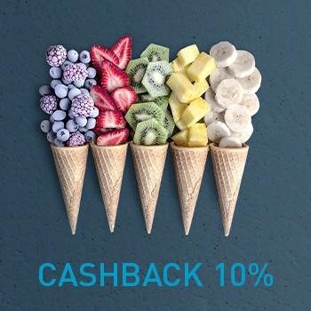 Начисляем CASHBACK 10% на морозильные камеры!