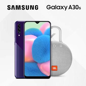 JBL Clip 3  в подарок к смартфону Samsung A30s!