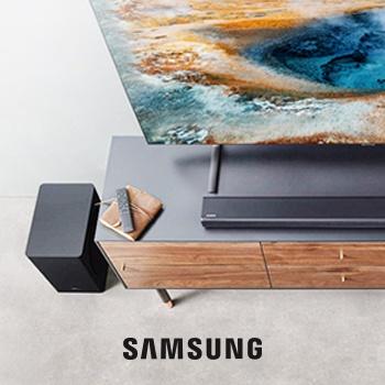 Саундбар в подарок к телевизорам Samsung!