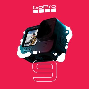 Выгода до 4 000 ₽ на GoPro HERO9!