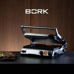 Фирменный фартук в подарок к грилю BORK G802!
