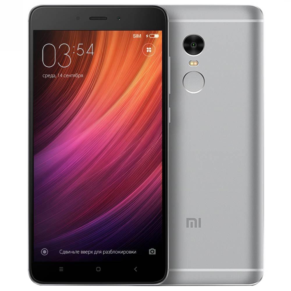 Смартфон Xiaomi Redmi Note 4X 32Gb серый - фото 1
