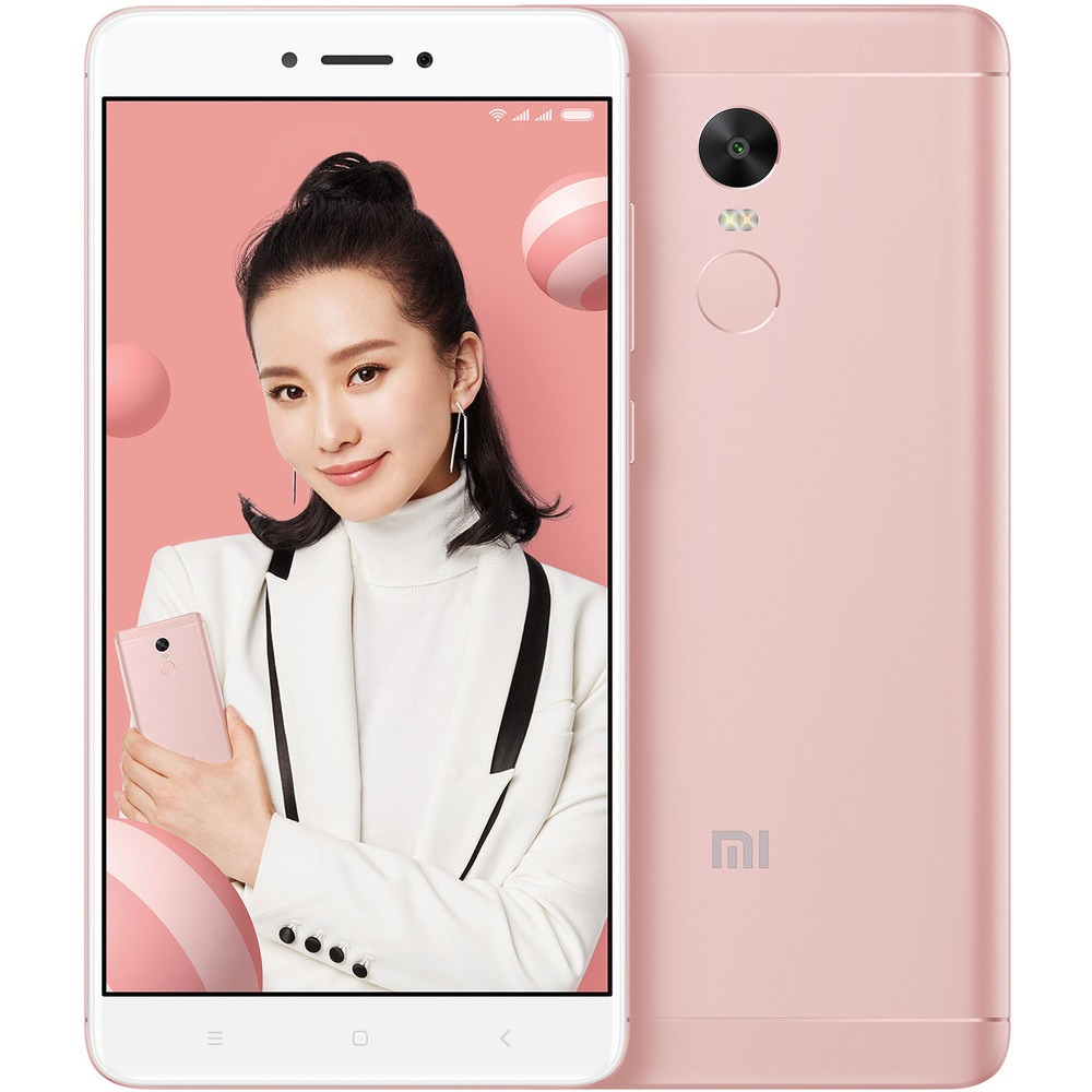 Смартфон Xiaomi Redmi Note 4X 32Gb розовый - фото 1