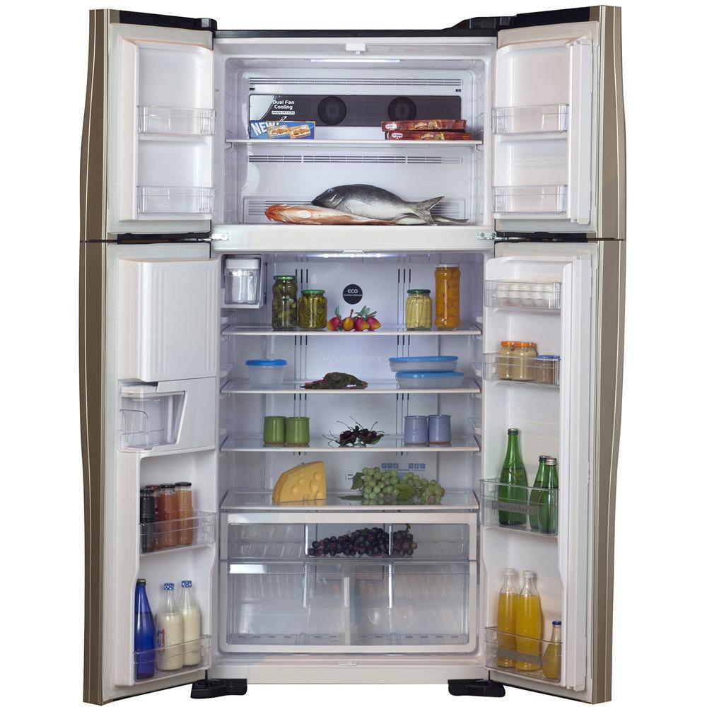 Холодильник Hitachi R-W722FPU1XGBK - фото 2