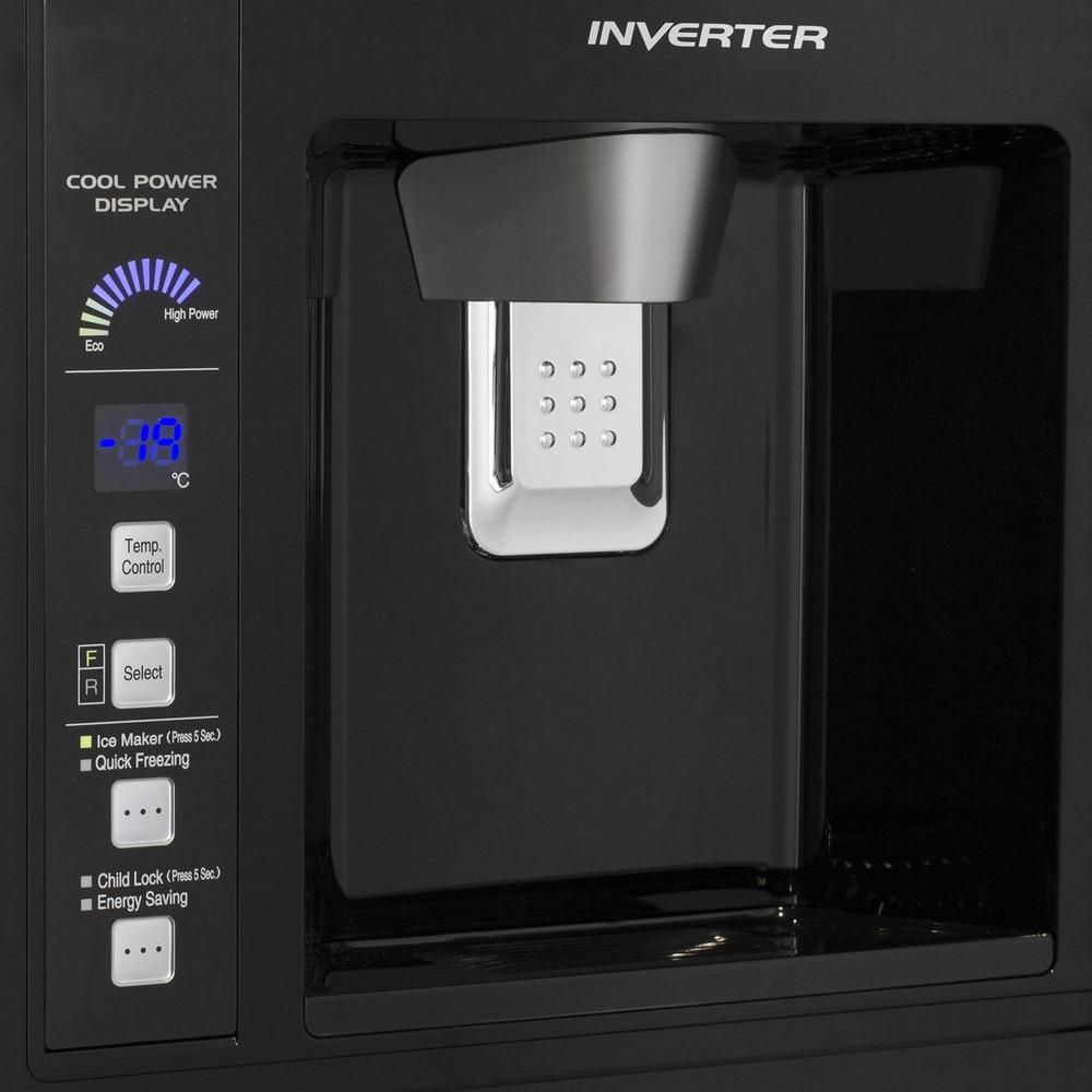 Холодильник Hitachi R-W722FPU1XGBK - фото 3